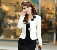 2016 new autumn, Korean Short Jacket code Slim small suit long sleeved suit female all-match spring tide